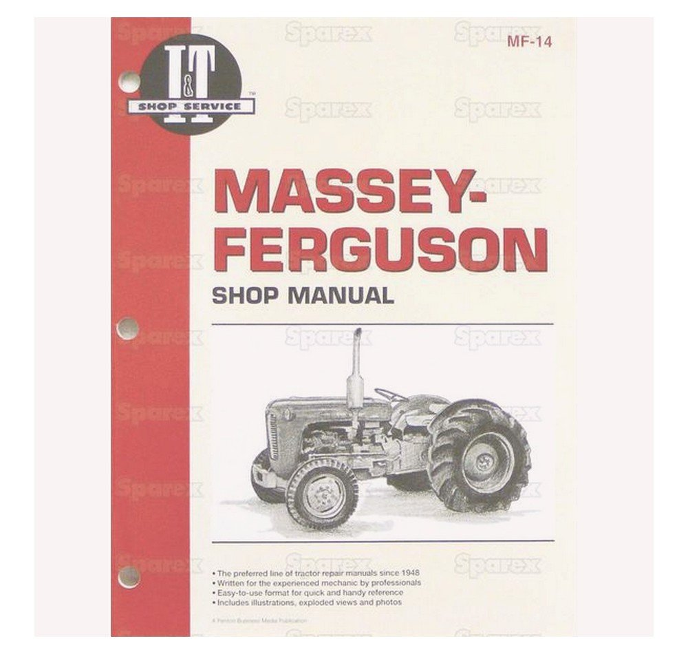 Amazon.com: Sparex, Massey Ferguson14 Manual, Service, Massey Ferguson For  Various Makes: Industrial & Scientific