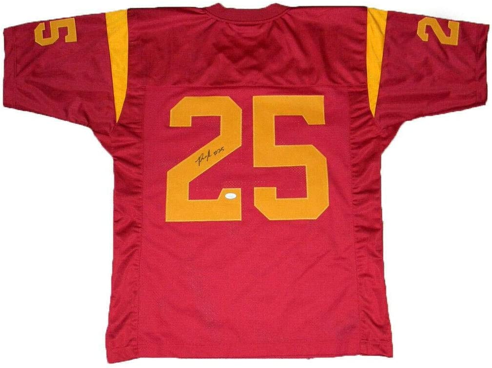 Ronald Jones Ii Autographed Signed Usc Trojans 25 Jersey Jsa Autographed College Jerseys At Amazon S Sports Collectibles Store