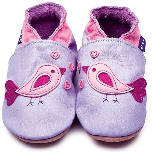 Inch Blue Krabbelschuhe Bird d'amour Lilac, Child Extra Large