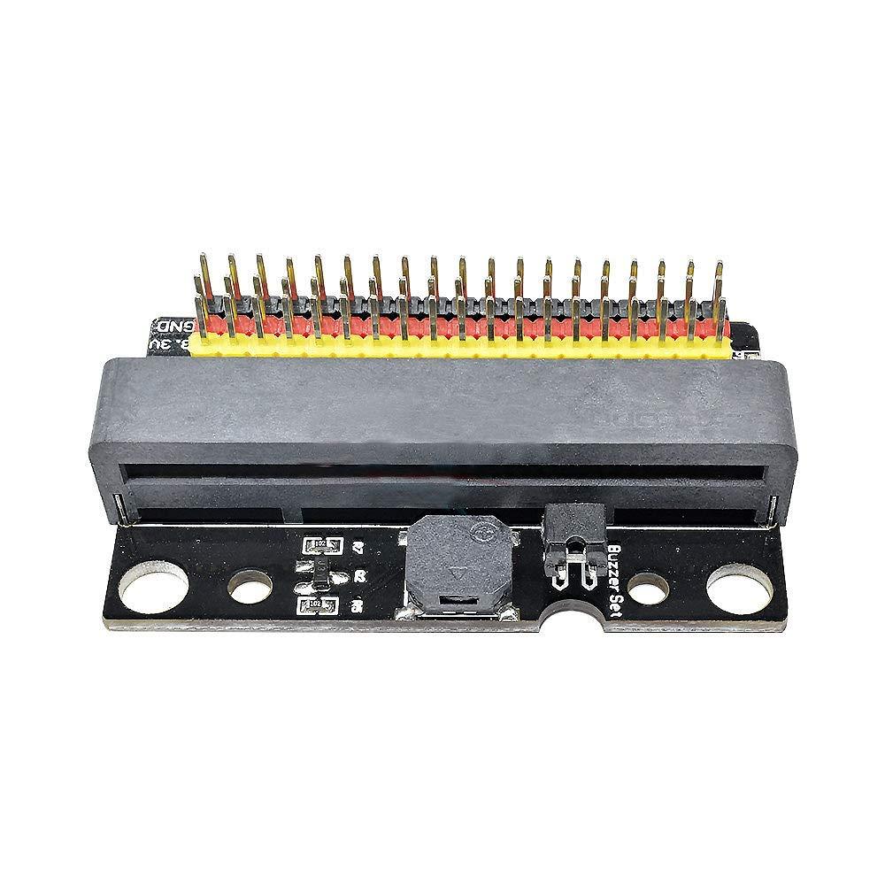 ACAMPTAR Placa De Expansi/ón Placa De Adaptador De Ruptura para El M/ódulo De Desarrollo De Programaci/ón para Ni?os Micro-bit Iobit BBC
