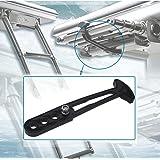 KEMiMOTO Boat Ladder Strap Boarding Ladder Rubber Latch Band Telescoping Ladder Secure Retaining Strap Holder Universal