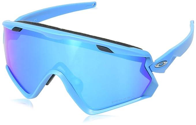 d97b83852a Ray-Ban Men's Wind Jacket 2.0 Sunglasses, Blue (Azul), 1: Amazon.co ...