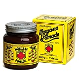 Morgan Pomade - Tarro de vidrio, color ámbar, 0.44 Pound