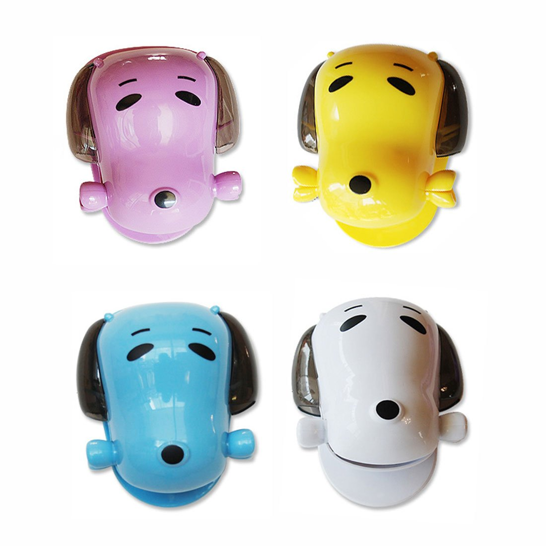 Toothbrush Holder Mini Dog Toothpaste Holder Toothpaste Dispenser (4 colors random) GARASANI