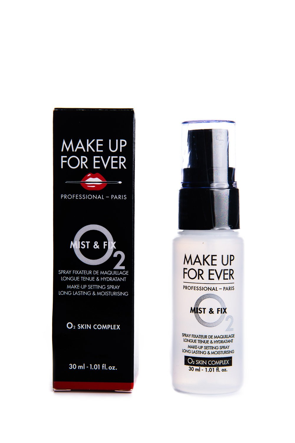 MAKE UP FOR EVER Mist & Fix Make-Up Setting Spray 1.01 fl. oz. Travel Size by Make Up For Ever