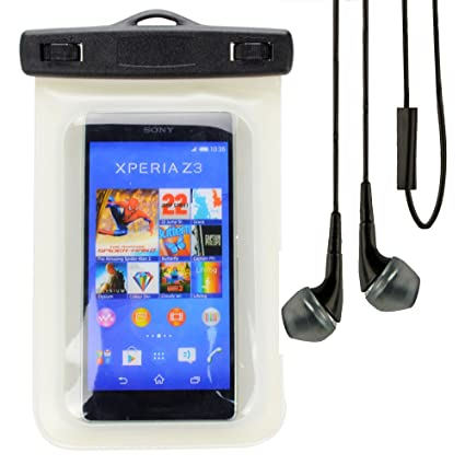 online store 1ec78 b47db Amazon.com: SumacLife Waterproof Case Pouch Bag for Sony Xperia Z3 ...