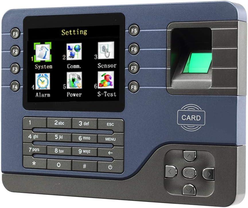 指紋時間出席時計、バイオメトリック指紋時間出席時計レコーダー従業デジタル電子英語のリーダー機のUSB IDカード