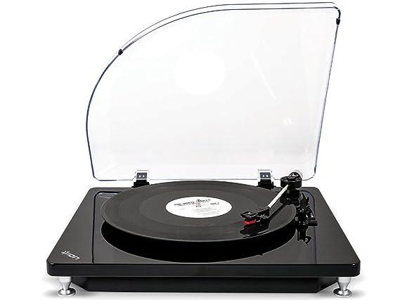 ION Ion pure lp black giradiscos usb: Amazon.es: Electrónica