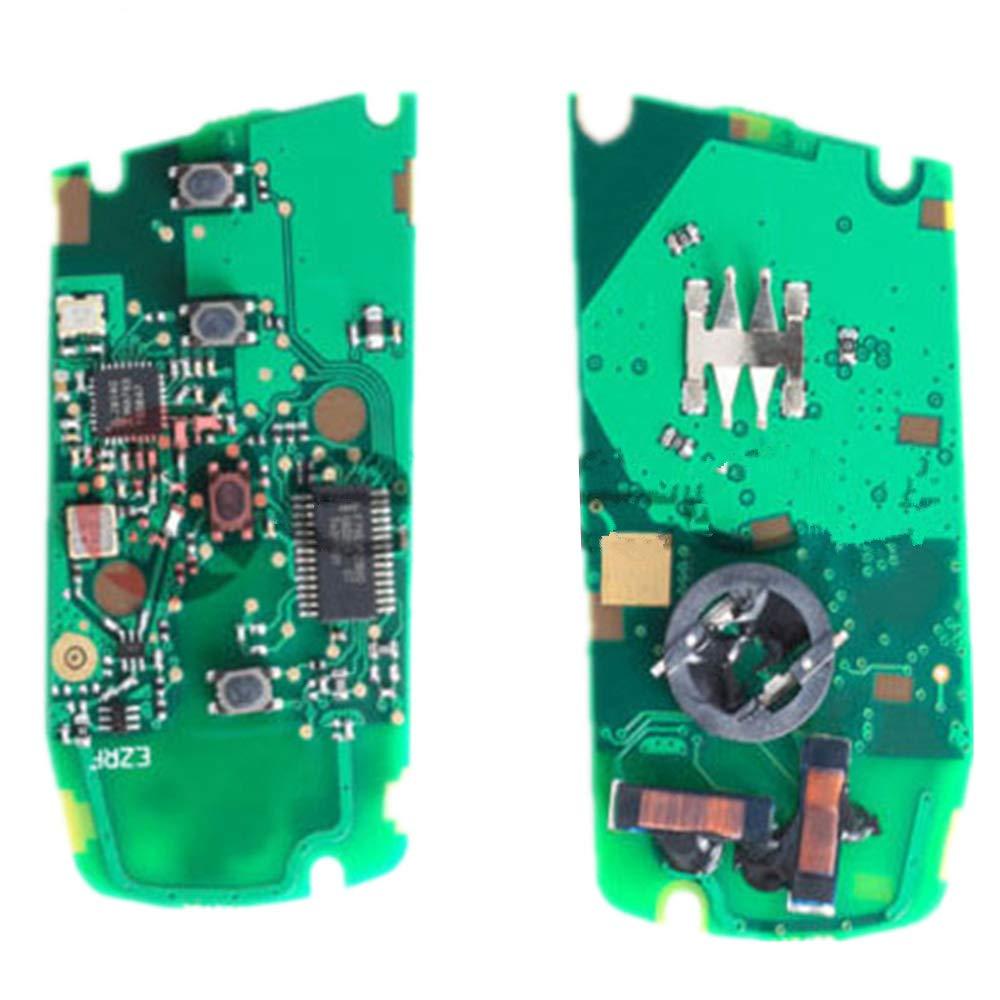 2011-2017 1 2 3 4 series x5 x6 315MHz 433MHz PCF7953 YGOHUF5662 Keymall keyless entry remote car key fob 3 Button replacement for BMW FEM BDC CAS4 CAS4