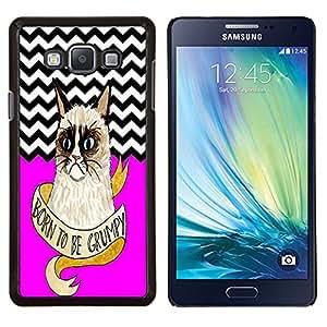 Dragon Case - FOR Samsung Galaxy A7 - Yesterday is history - Caja protectora de pl??stico duro de la cubierta Dise?¡Ào Slim Fit