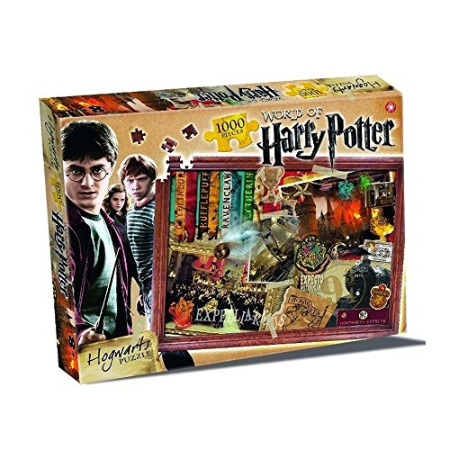 World of Harry Potter Hogwarts Puzzle 1000 Piece Jigsaw Puzzle by Winning Moves