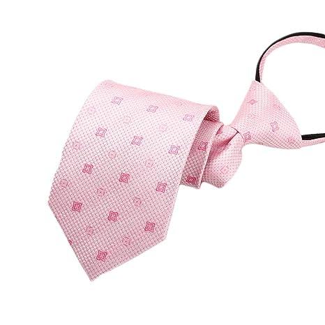 Lazy Zip Tie Corbata Formal de Negocios para Hombres Corbata fácil ...