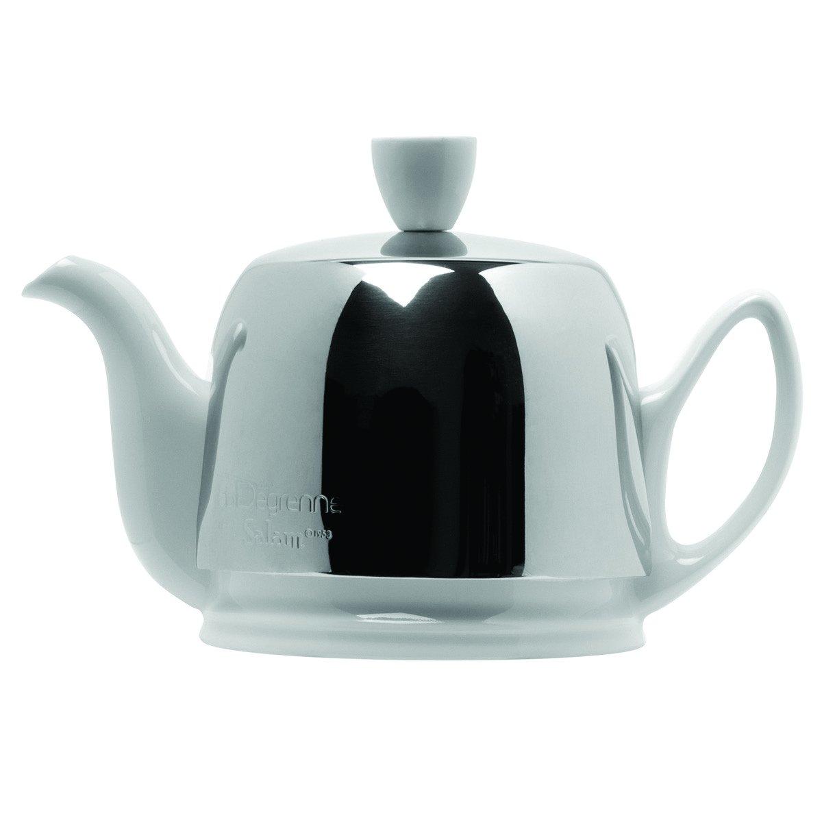 DEGRENNE -  SALAM WHITE Tea Pot 2 Cups, 11 oz 13/16