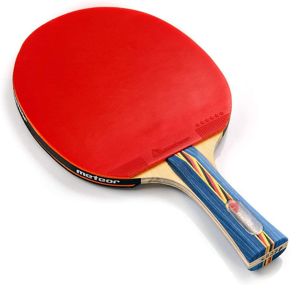 Pala Tenis de Mesa Ideal para Principiantes y avanzados - la Raqueta de Tenis de Mesa para niños y Adultos - Raqueta Mesa Ping Pong para Entrenamiento y Partidos
