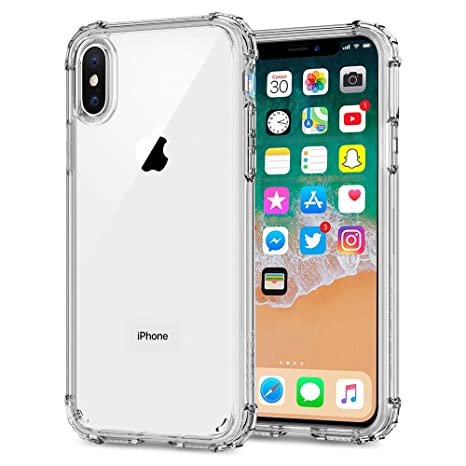 coque antichoc iphone x transparent