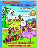 Fairy Tales and Nursery Rhymes Big Coloring Book, Really Big Coloring Books Staff, 0976318660