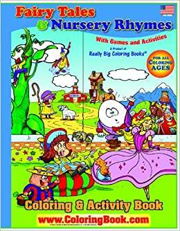 Big Book of Fairy Tales & Nursery Rhymes Giant Super Jumbo ...