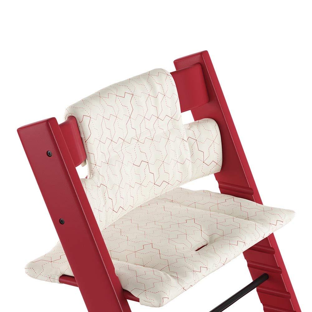 Stokke Tripp Trapp Organic Cotton Cushion Geometric Red