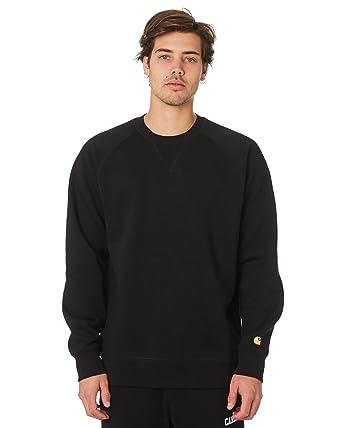 good selling united states authentic Amazon.com: Carhartt Chase Sweatshirt AH19 Men Black: Clothing