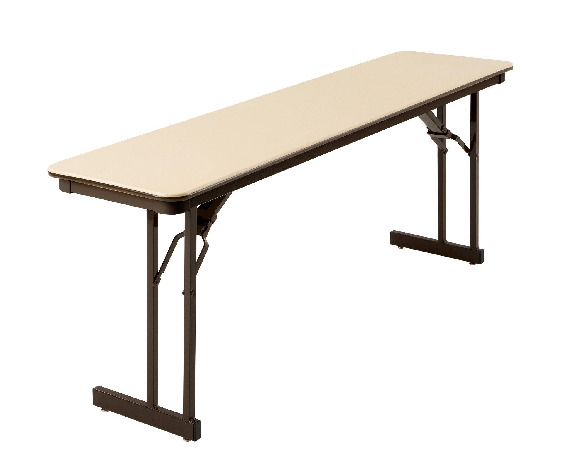 MityLite ABS Table, 18'' x 72'', Beige by MityLite