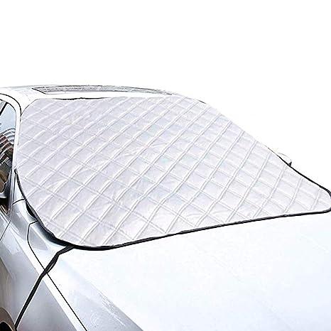Rziioo Parabrisas de Nieve para automóvil, Protector de Visera del limpiaparabrisas, Protector Solar para