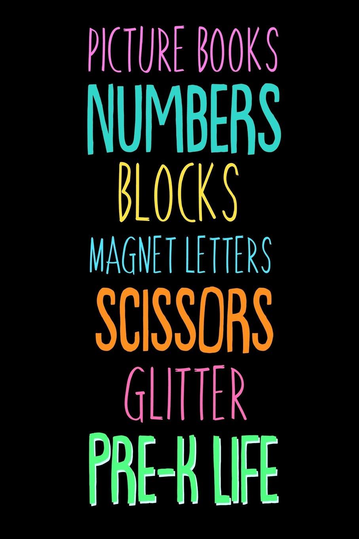 Picture Books Numbers Blocks Magnet Letters Scissors Glitter