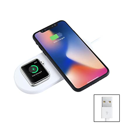 Amazon com: niceeshop Mini AirPower Wireless Charger for iWatch 2/3
