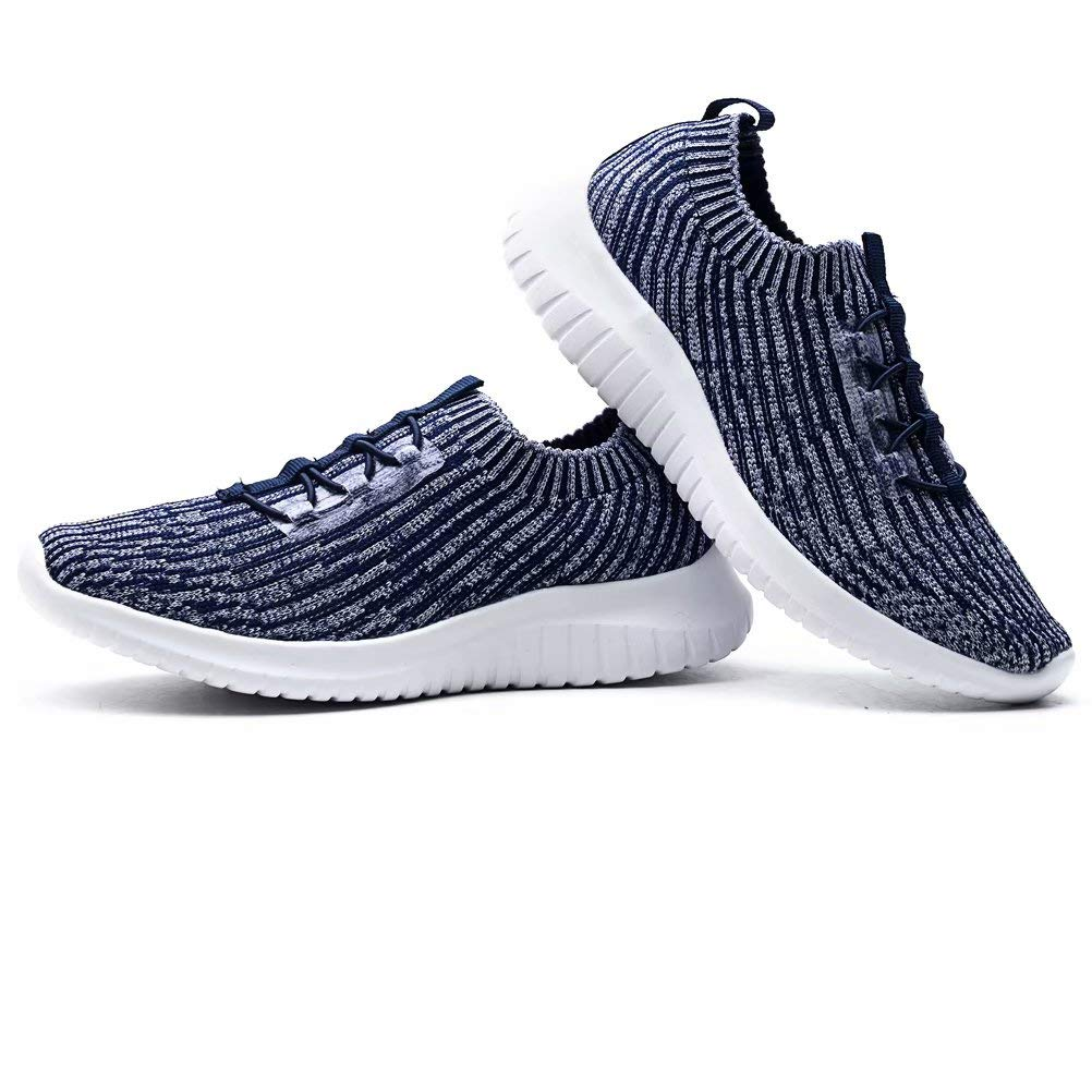 Casual Knit Lightweight Running Slip On Sneakers LANCROP Womens Athletic Walking Shoes