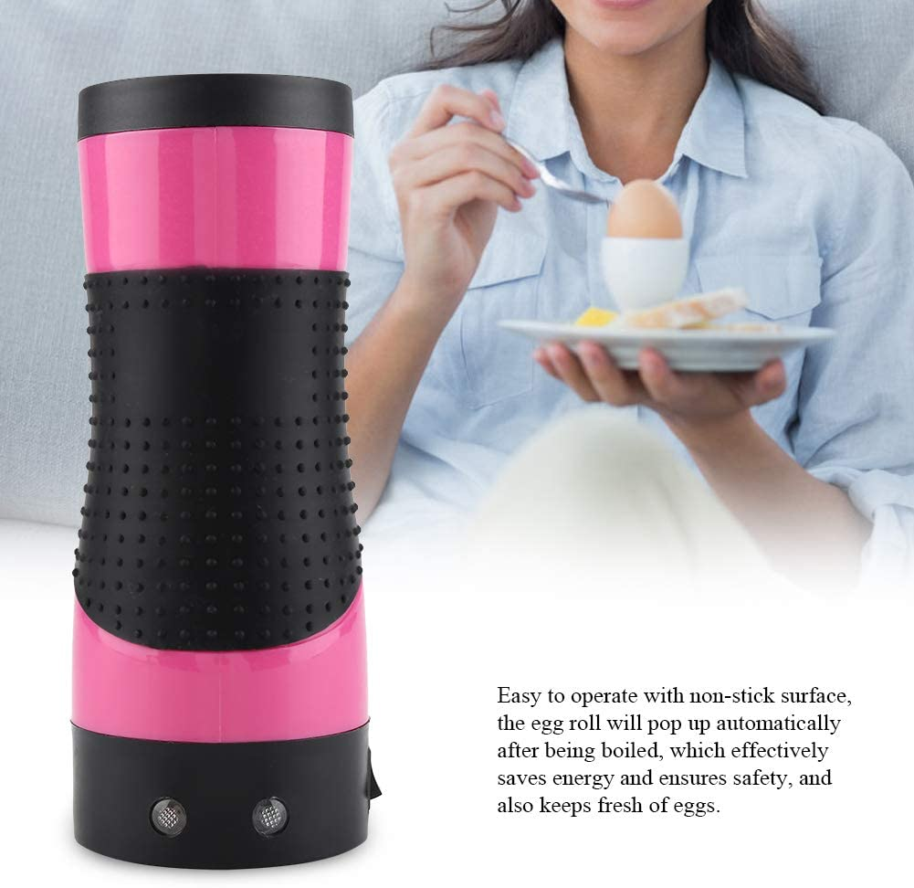 multifunzione Rullo per uova automatico Egg Roll Maker colazione nutritiva bricolage 220 V rosso