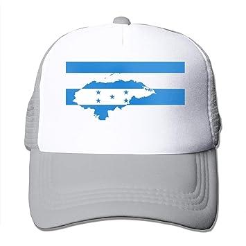 Osmykqe Honduras Mapa Bandera 12 Novedad Diseño Divertido Gorras ...