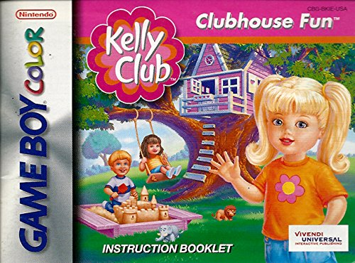 (Kelly Club GBC Instruction Booklet (Nintendo Gameboy Color Manual ONLY - NO GAME) Pamphlet - NO GAME)