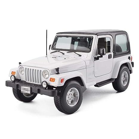 YSDHE Mini Modelo De Juguete para Auto, 1:18 Jeep Wrangler ...