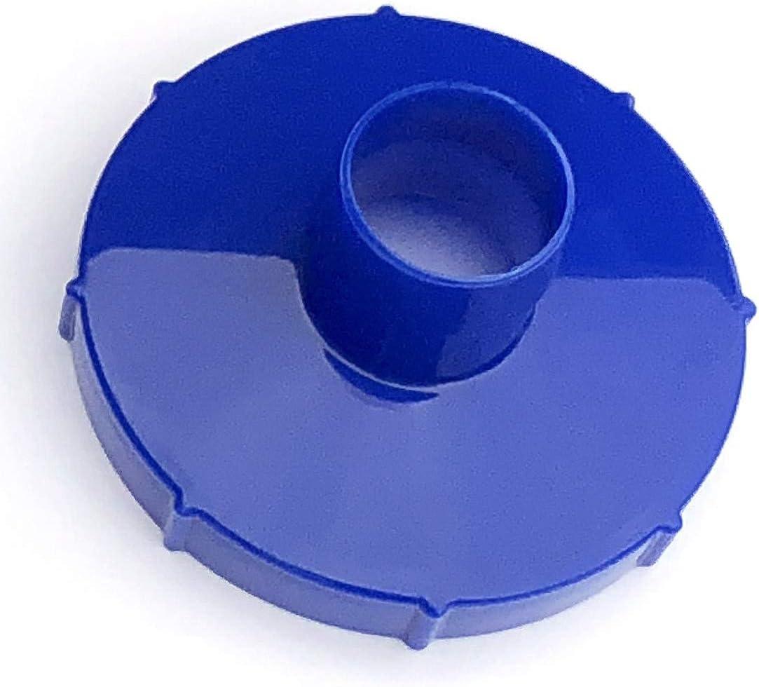 Algenschnapper Adaptador para Bestway 58212 Filtro Adicional para Piscinas de Rosca de 88 mm, Azul