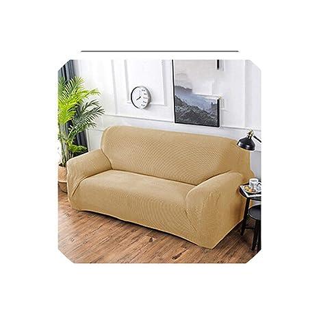 N/A Funda de sofá de algodón Tejido, Todo Incluido, Funda ...