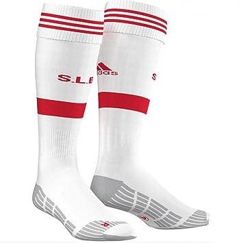 adidas SLB A Sock - Calcetines para Hombre, Color Blanco/Rojo, Talla 1: Amazon.es: Zapatos y complementos