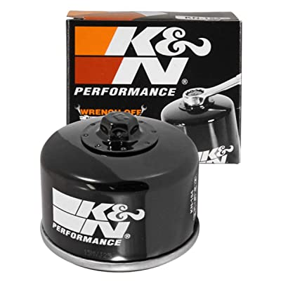 K&N Motorcycle Oil Filter: High Performance, Premium, Designed to be used with Synthetic or Conventional Oils: Fits Select Piaggio, Aprilia, Peugeot, Malaguti, Gilera Vehicles, KN-184: Automotive