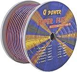 NEW Q-POWER 12G250 12-Gauge Ga 250' Spool High Performance Car/Home Speaker Wire