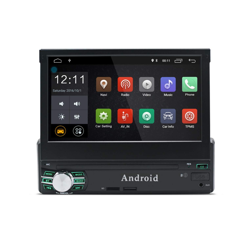 KXT1 Android 6.0 Stéréo De Voiture 1 Din 2 GB RAM 16 GB ROM Quad Core 7 pouces Écran Tactile Intégré Wi-Fi BT Contrôle Du Volant Miroir Lien Soutien Vue Arrière Caméra DVR Auto Radio (AM / FM / RDS)