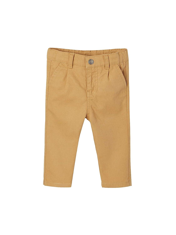 94CM Vertbaudet Pantalon Chino b/éb/é gar/çon Cannelle 36M