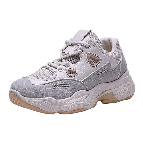 pas mal b2281 65a0b Ansenesna Femme Chaussures Ete Securite Talon CompenséEs ...