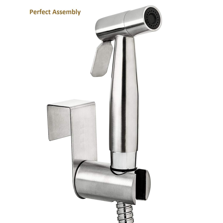pulverizador de bid/é de mano para inodoro de dormitorio pulverizador de acero inoxidable de alta calidad juego completo de bid/é para inodoro Pulverizador para bid/é de mano