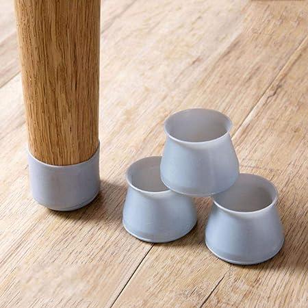 Protector de pie de mesa de silicona para sillas, 4 unidades, para ...