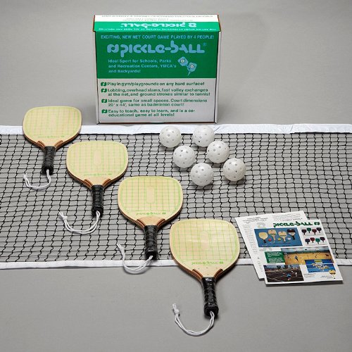 Pickle-ball Swinger Set W/out Standards by Pickle-Ball
