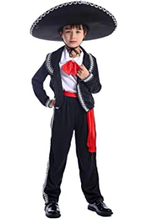 My Other Me Me-203318 Disfraz de mejicano para niño, 7-9 años ...