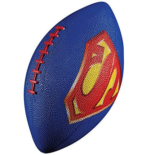 Franklin Sports Mini Rubber Football, Superman