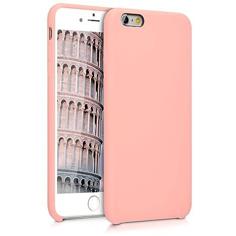 economico per lo sconto 872d8 c239c kwmobile Apple iPhone 6 Plus / 6S Plus Cover - Custodia per Apple iPhone 6  Plus / 6S Plus in Silicone TPU - Back Case Cellulare Oro Rosa