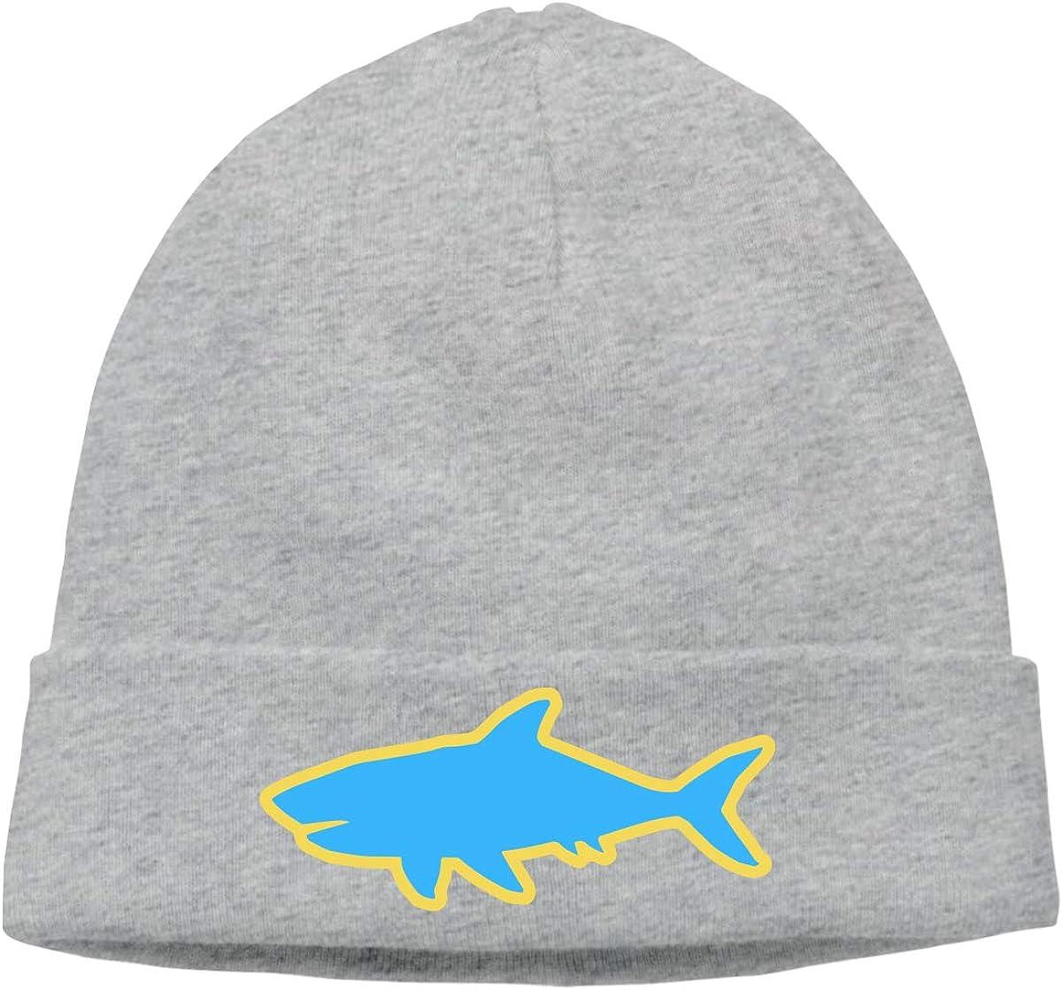 Men Women Shark Soft Beanie Hat