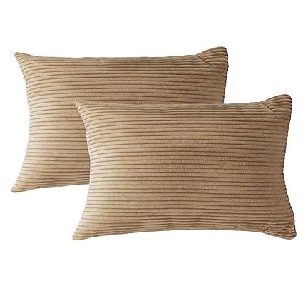 Amazon.com: womhope 2 piezas – fundas de Ultra suave manta ...