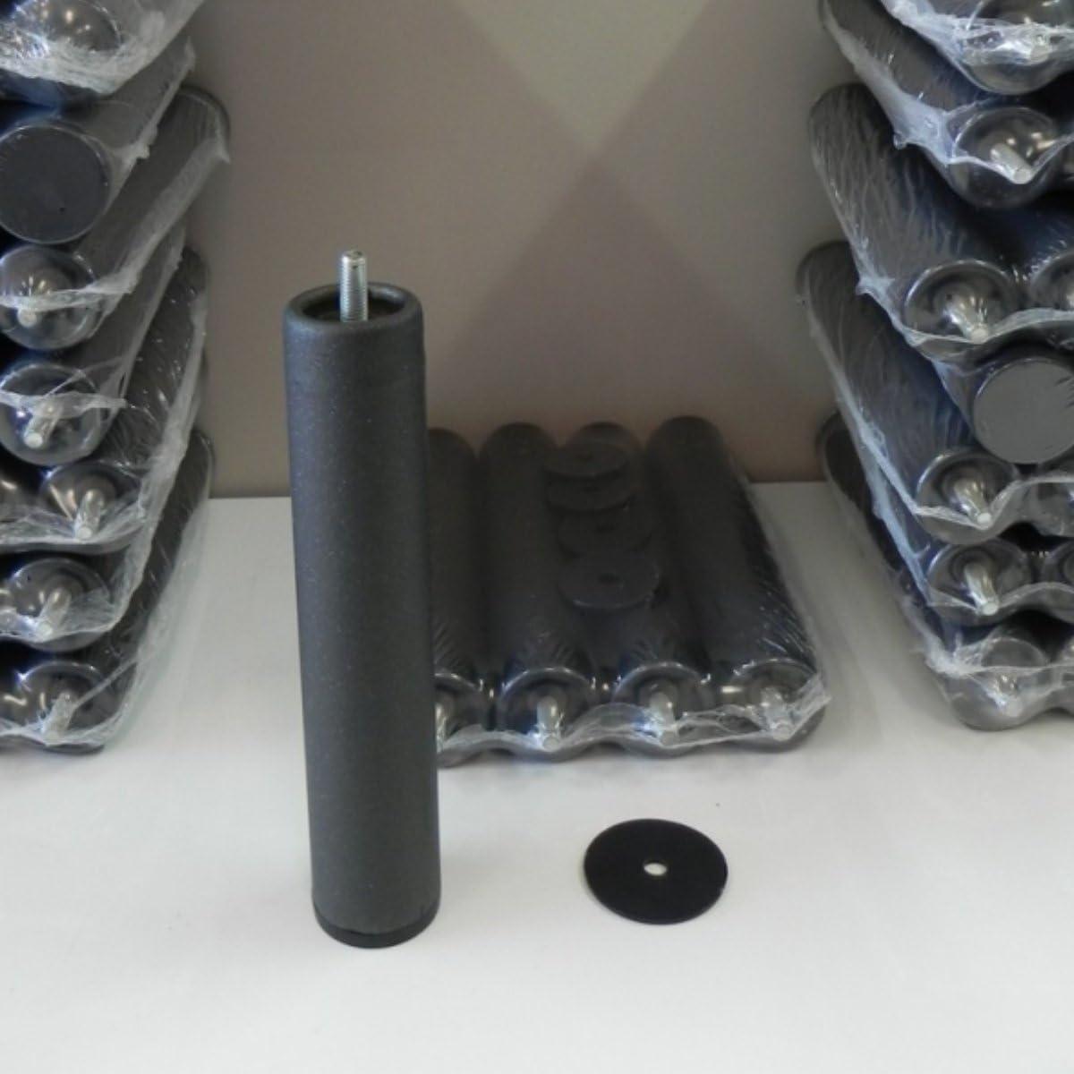 Abitti Somier multiláminas con REGULADORES LUMBARES + 4 Patas. 75x190cm, FIRMEZA Adaptable, Tubo 40x30MM y LÁMINAS de Haya Natural Antideslizantes.