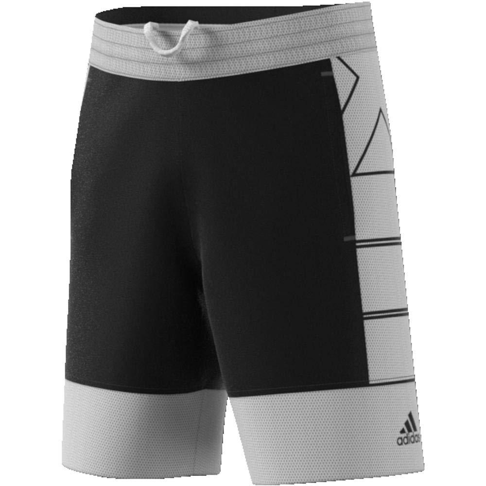 adidas HARDEN2 Pantalón Corto de Baloncesto, Hombre, Negro/Blanco, 2XL